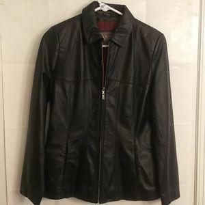 Wilson's Women's 100% Leather Jacket Size S